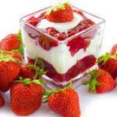 Десерт з полуниці