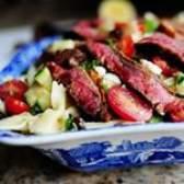 Фото рецепт цікавого салату з цукіні на день народження