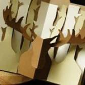 Як робити кірігамі листівки?