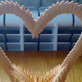 Як зробити орігамі з паперу сердечко, відео