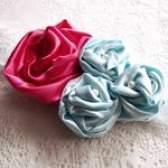 Як зробити троянду з атласу своїми руками - фото майстер-клас