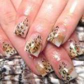 Леопардовий манікюр