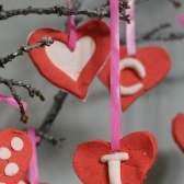 Майстер-клас: дерево з сердечок на день святого валентина