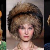 Модні хутряні шапки, зима 2016: фото наймодніших жіночих хутряних шапок, осінь-зима 2015-2016