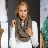Модні шарфи, зима 2015-2016 - фото модних жіночих шарфів і хусток, осінь-зима 2015-2016