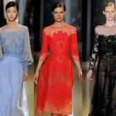 Модні вечірні сукні, зима 2016: фото модних довгих і коротких вечірніх суконь, осінь-зима 2015-2016