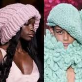 Модні в'язані шапки зима +2015: фото наймодніших жіночих головних уборів, осінь-зима 2014-2015