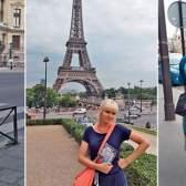 Наталі відправилася в париж разом з сином і мамою