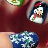Новорічний манікюр: наймодніший дизайн нігтів до нового року 2 015