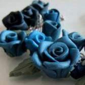 Троянди з полімерної глини