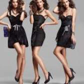 З чим носити чорне плаття