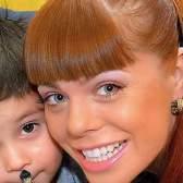 Стоцька показала свого сина-підлітка