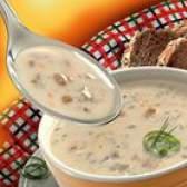Суп-пюре з печериць