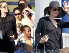 Анджеліна Джолі в австралії з таємничим кільцем на пальці