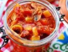 Що можна приготувати з кабачків на зиму - фото рецепти заготовок