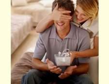 Що подарувати 23 лютого коханому