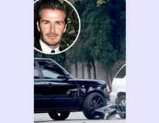 Девід Бекхем потрапив в аварію