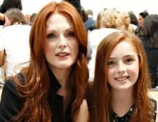 Джуліан мур і її одинадцятирічна дочка на тижні моди в Нью-Йорку