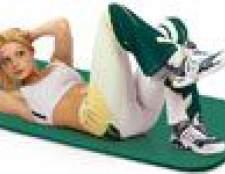 Фітнес-гімнастика для м'язів живота