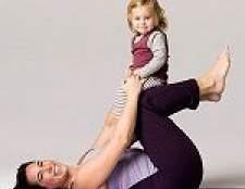 Як швидко прибрати обвислий після пологів живіт - вправи, дієта, настрій