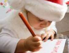 Як написати лист дідові морозу?