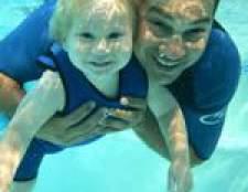 Як навчити плавати дитини