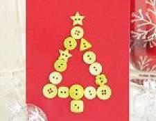 Як зробити об'ємні новорічні листівки з паперу своїми руками