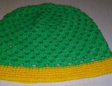Як зв'язати літню дитячу шапочку гачком. Майстер-клас з в'язання дитячої літньої шапочки