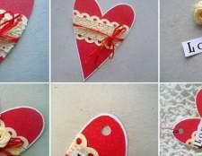 Як прикрасити валентинку