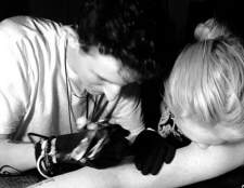 Ліндсі Лохан зробила собі татуювання