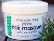 Маска для посічених кінчиків волосся з розмарином