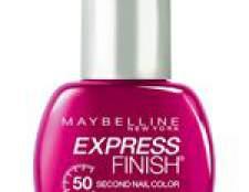 Maybelline express finish лак для нігтів
