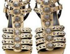 Модні сандалі весна-літо 2013