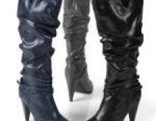 Модні чоботи осінь 2012