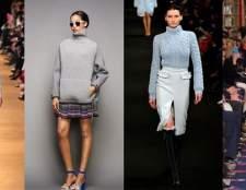 Модні жіночі светри осінь зима 2015-2016: фото наймодніших в'язаних светрів 2015