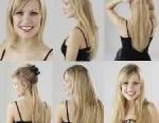 Накладні волосся на шпильках