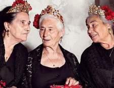 Незвичайні моделі в новій кампанії dolce & gabbana