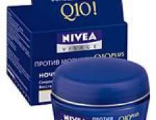 Nivea q10plus нічний крем проти зморшок