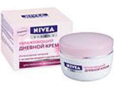 Nivea зволожуючий денний крем для сухої і чутливої шкіри