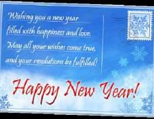 Оригінальні привітання з новим роком 2 015, кращі поздоровлення