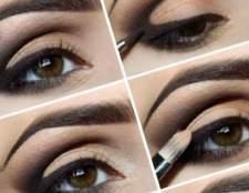 Правильний макіяж для карих очей
