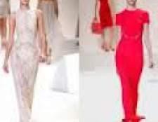 Наймодніші довгі і короткі вечірні сукні весна-літо 2013