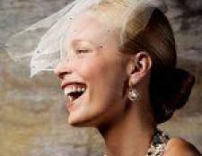 Весільні зачіски з короткою фатою