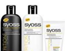 Syoss nutrition oil care шампунь, бальзам, маска
