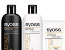 Syoss repair therapy шампунь, бальзам, маска