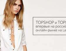 Topshop і topman почали співпрацю з lamoda і вперше з'явилися на російському онлайн-ринку