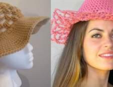 Жіноча річна капелюшок гачком